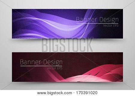 Dark abstract banner design/ template for businnes.