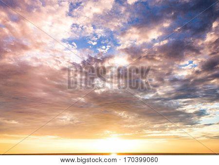 Unreal Background In Heaven