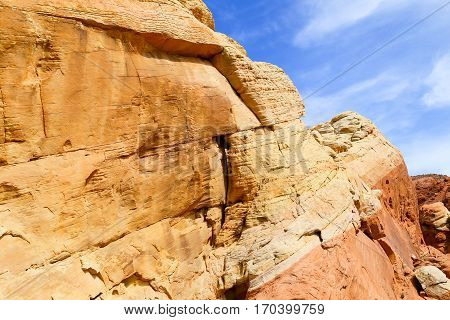 Colorful Rocks in the Valley of Fire State Park in Nevada, USA