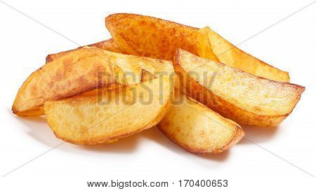 Baked Roasted Poato Chips Slices, Paths