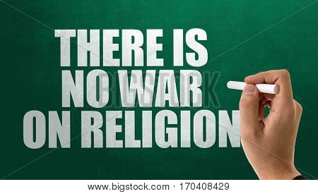 There is No War on Religion