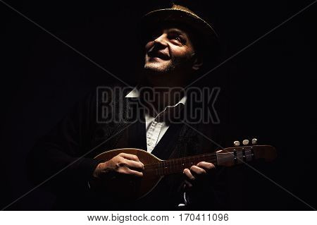 Portrait Of A Musician From Vojvodina, Serbia