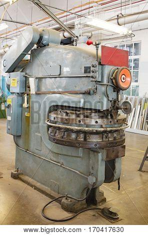 Old Sheet Metal Turret Punch