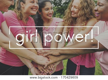 Super Women Happiness Togetherness Beautiful