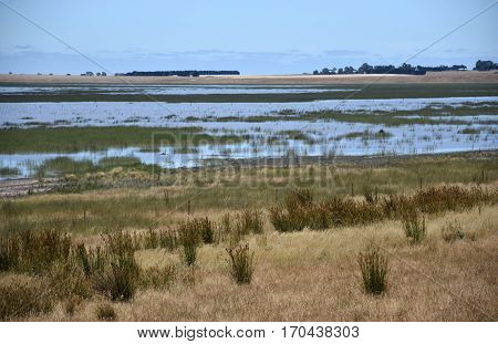 Lake Muirhead in Yarram Park Grampians National Park Victoria Australia.