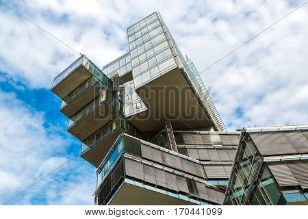 Modern Skyscraper In Hannover