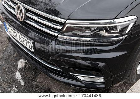Volkswagen Tiguan, 4X4 R-line, Headlight