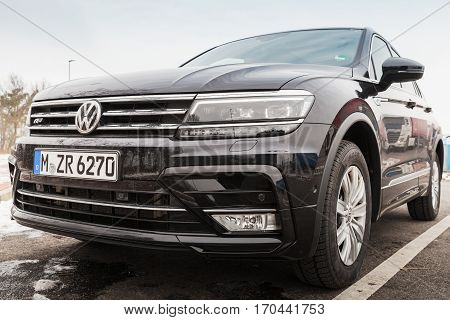 Second Generation Volkswagen Tiguan