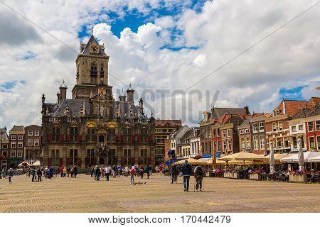 City Hall In Delft