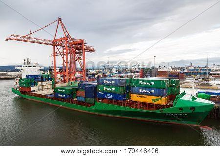 Port Of Dublinin, Ireland