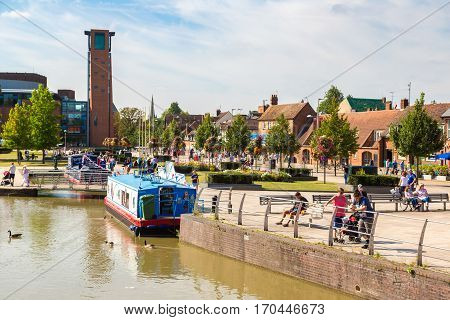 Touristic Boats In Stratford Upon Avon