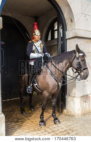 Royal Horse Guards  In London, England