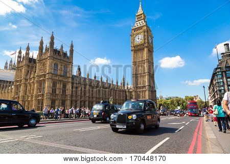 Parliament, Westminster Abbey And Big Ben