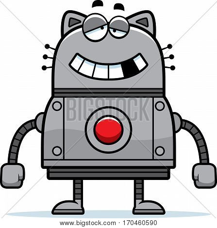 Malfunctioning Robot Cat