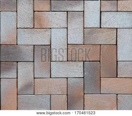 Paving stones pattern pavement texture. Modern pavement background texture close up.