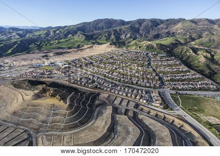 New developments in the Porter Ranch area of the City of Los Angeles.