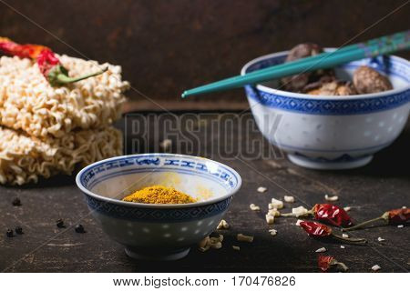 Noodles And Tumeric