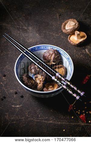 Dry Shiitake Mushrooms
