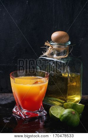Tequila Sunrise Cocktail