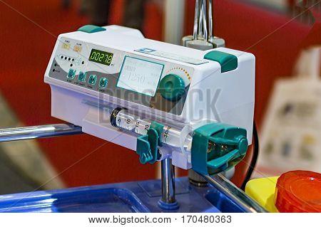 Oxygen Flow Monitor For Hospital