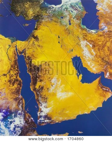 Middle East From Space