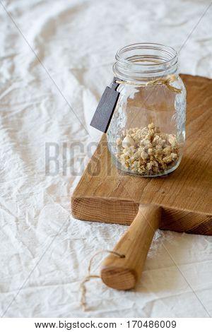 Granola In The Jar