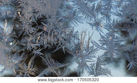 christmas window, Art of Frost, beautiful winter background