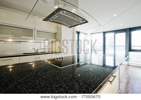 modern kitchen with highest standards