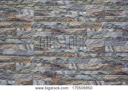 Modern Stone Brick Wall Background. Stone Texture