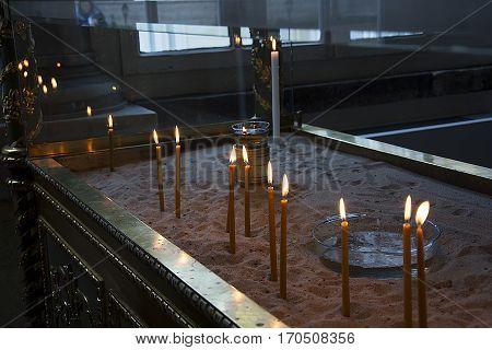 A religious temple. Spiritual wishes. Religious beliefs