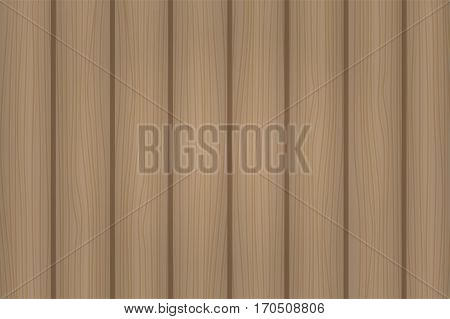 Hand Drawn Detailed Brown Wooden Texture. Vector Illustration