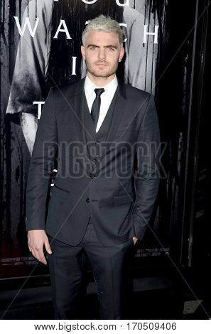 LOS ANGELES - FEB 2:  Alex Roe at the