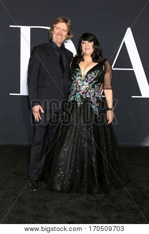 LOS ANGELES - FEB 2:  Niall Leonard, E. L. James at the