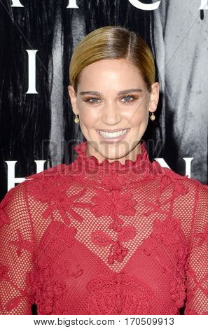 LOS ANGELES - FEB 2:  Matilda Lutz at the