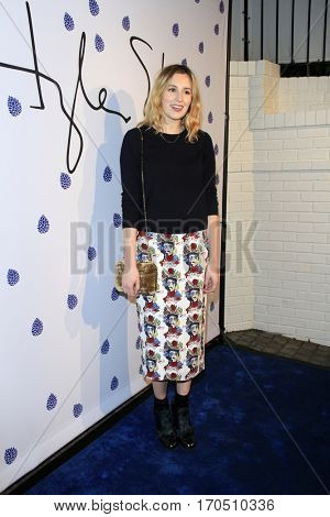 LOS ANGELES - JAN 31:  Laura Carmichael at the Tyler Ellis 5th Anniversary Party and Tyler Ellis x Petra Flannery Collection Launch at Chateau Marmont on January 31, 2017 in West Hollywood, CA