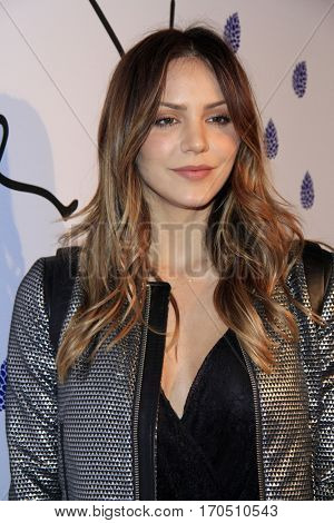 LOS ANGELES - JAN 31:  Katherine McPhee at the Tyler Ellis 5th Anniversary Party and Tyler Ellis x Petra Flannery Collection Launch at Chateau Marmont on January 31, 2017 in West Hollywood, CA