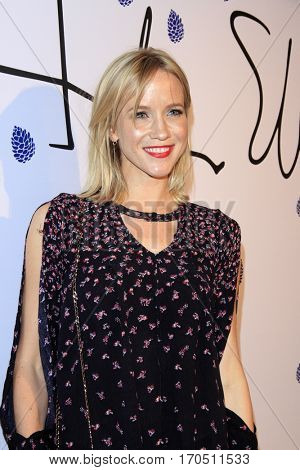 LOS ANGELES - JAN 31:  Jessy Schram at the Tyler Ellis 5th Anniversary Party and Tyler Ellis x Petra Flannery Collection Launch at Chateau Marmont on January 31, 2017 in West Hollywood, CA