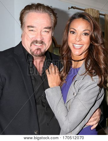 LOS ANGELES - JAN 5:  John Callahan, Eva LaRue at the
