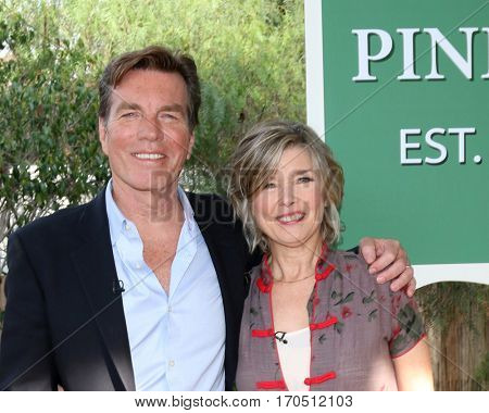 LOS ANGELES - JAN 5:  Peter Bergman Taylor Miller at the