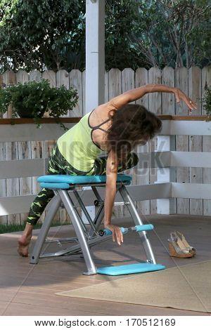 LOS ANGELES - JAN 5:  Susan Lucci, Pilates Segment at the