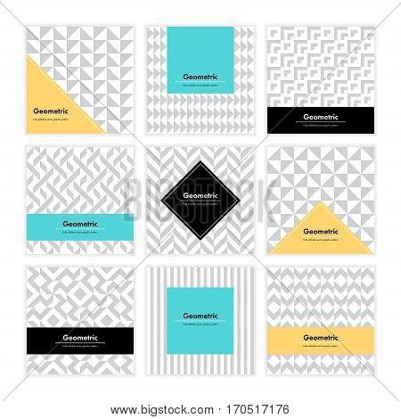 Geometric Texture Set 001