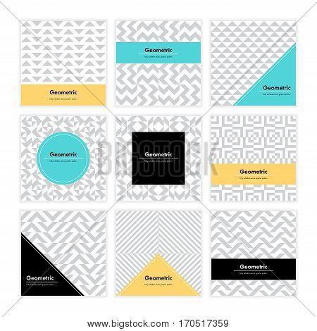 Geometric Texture Set 004