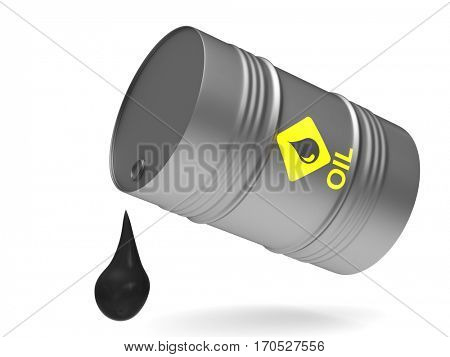 vat on white background. Isolated 3D image