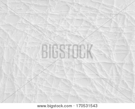 Creative white abstract texture.