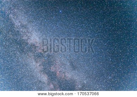 deep sky astrophoto. Beauty world. Carpathians Ukraine Europe
