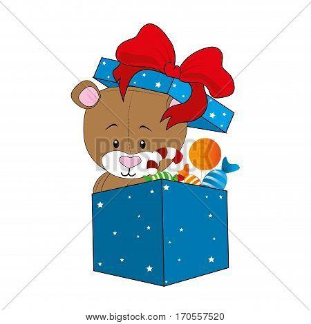giftbox present isolated icon vector illustration design