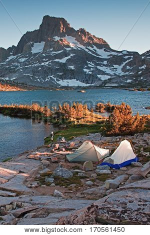 Ansel Adams Wilderness is a desginated wilderness in the Eastern Sierras