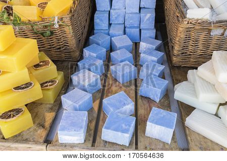 Handmade soaps for personal use that improves health and hygiene, soaps with medicinal properties for the skin