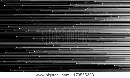 particle flow background, 3d illustration