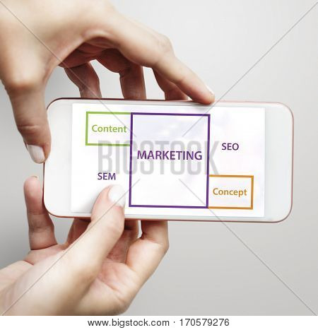 Marketing SEO Content Word Boxes